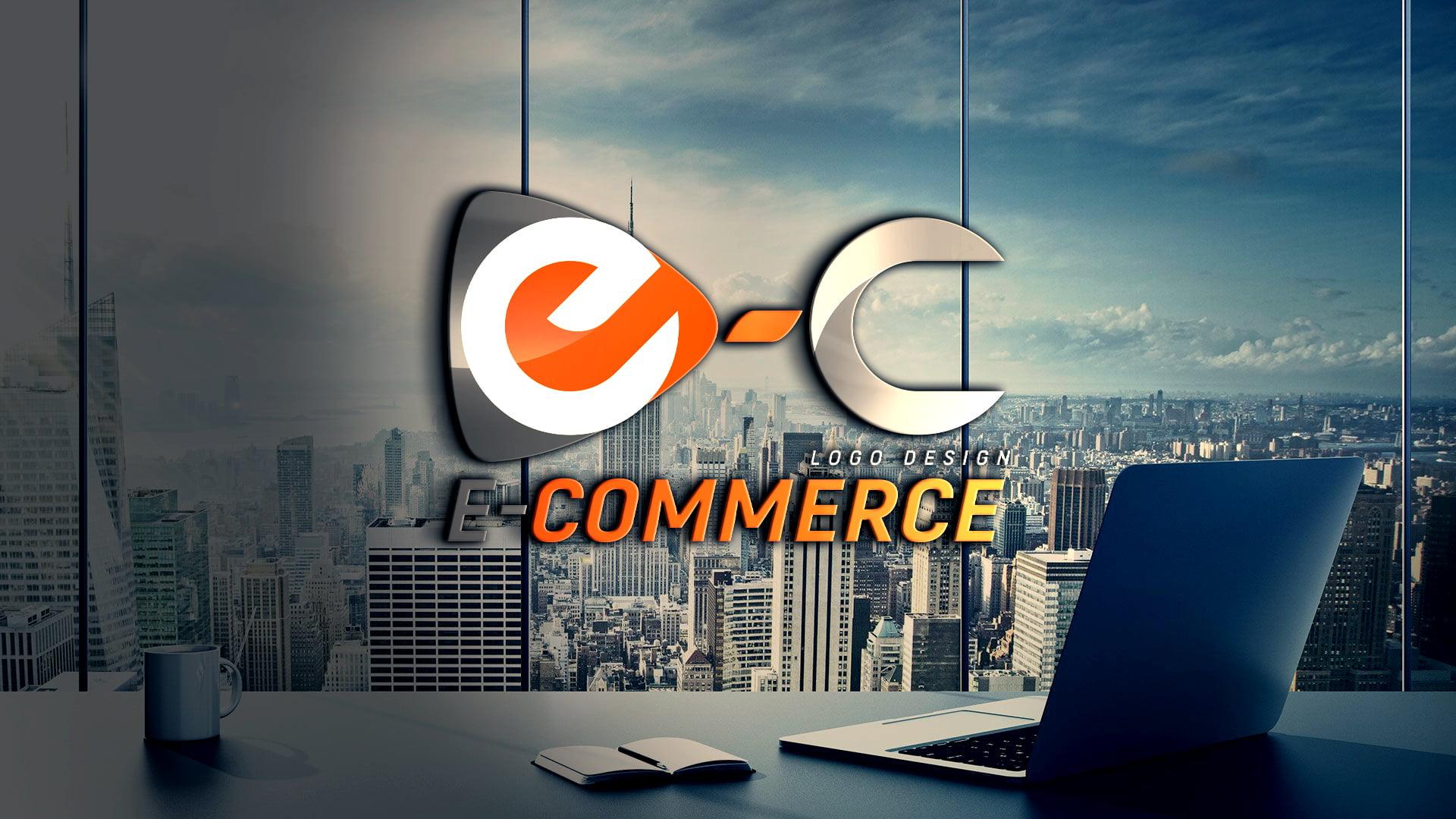 Download E-commerce Logo Design PSD