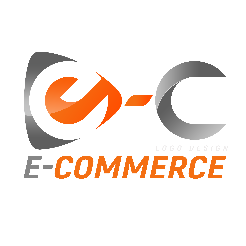 E-Commerce Logo Design PNG