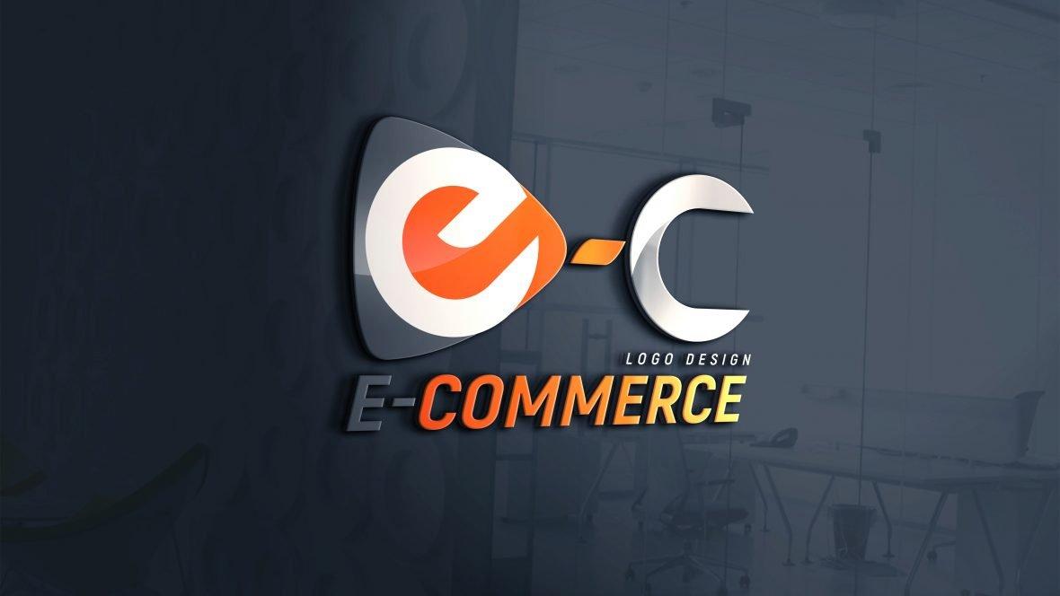 E-commerce Logo Design PSD Download