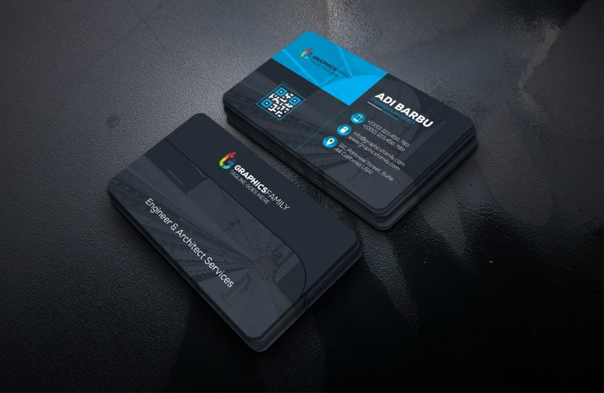 Engineering Business Card Design Template