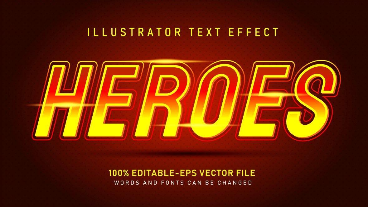 Fire Light Text Effect