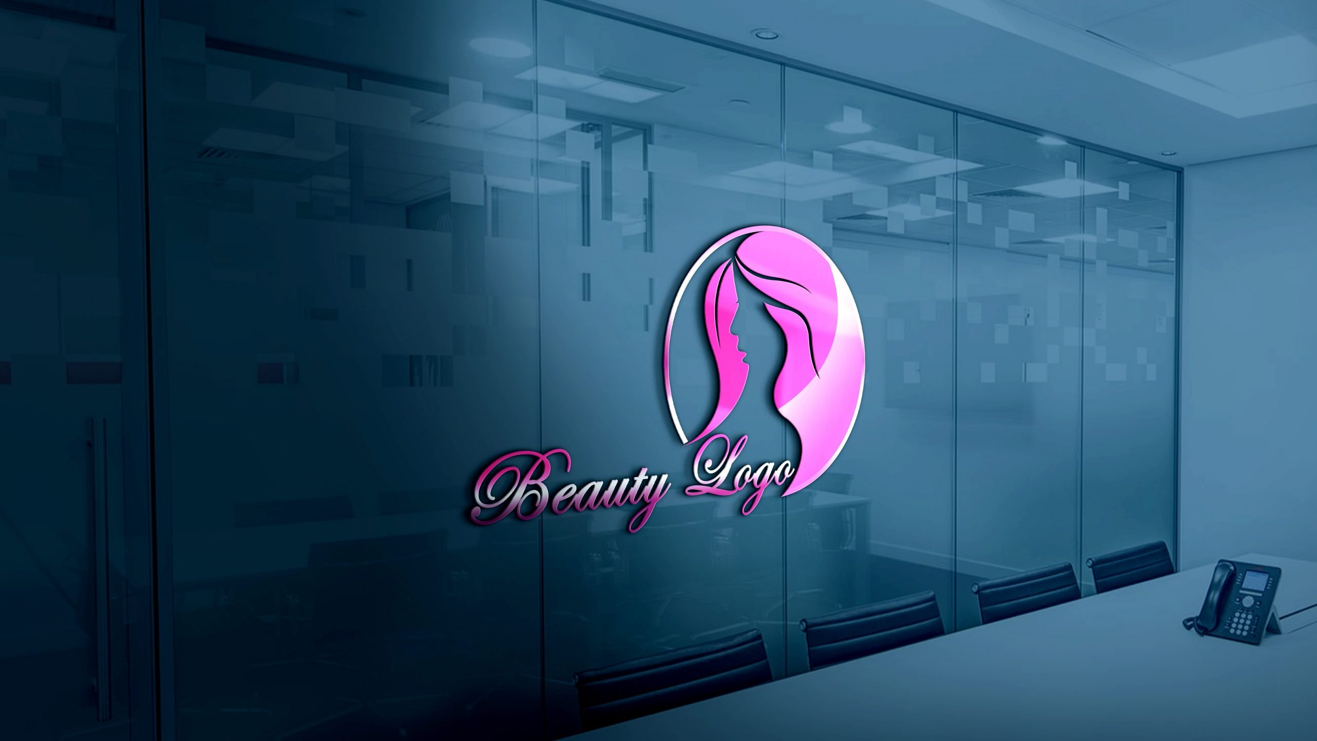 Free Beauty Logo Design Template Download