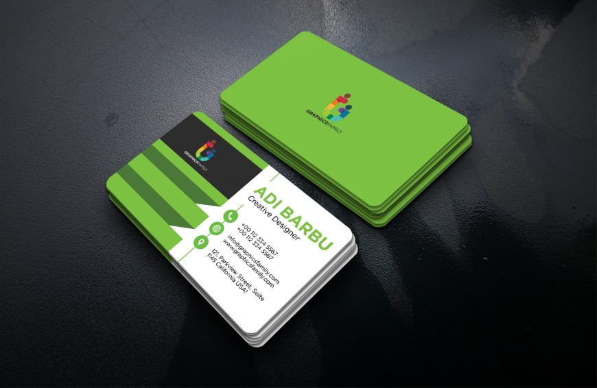 Free Business Card Template for Designer