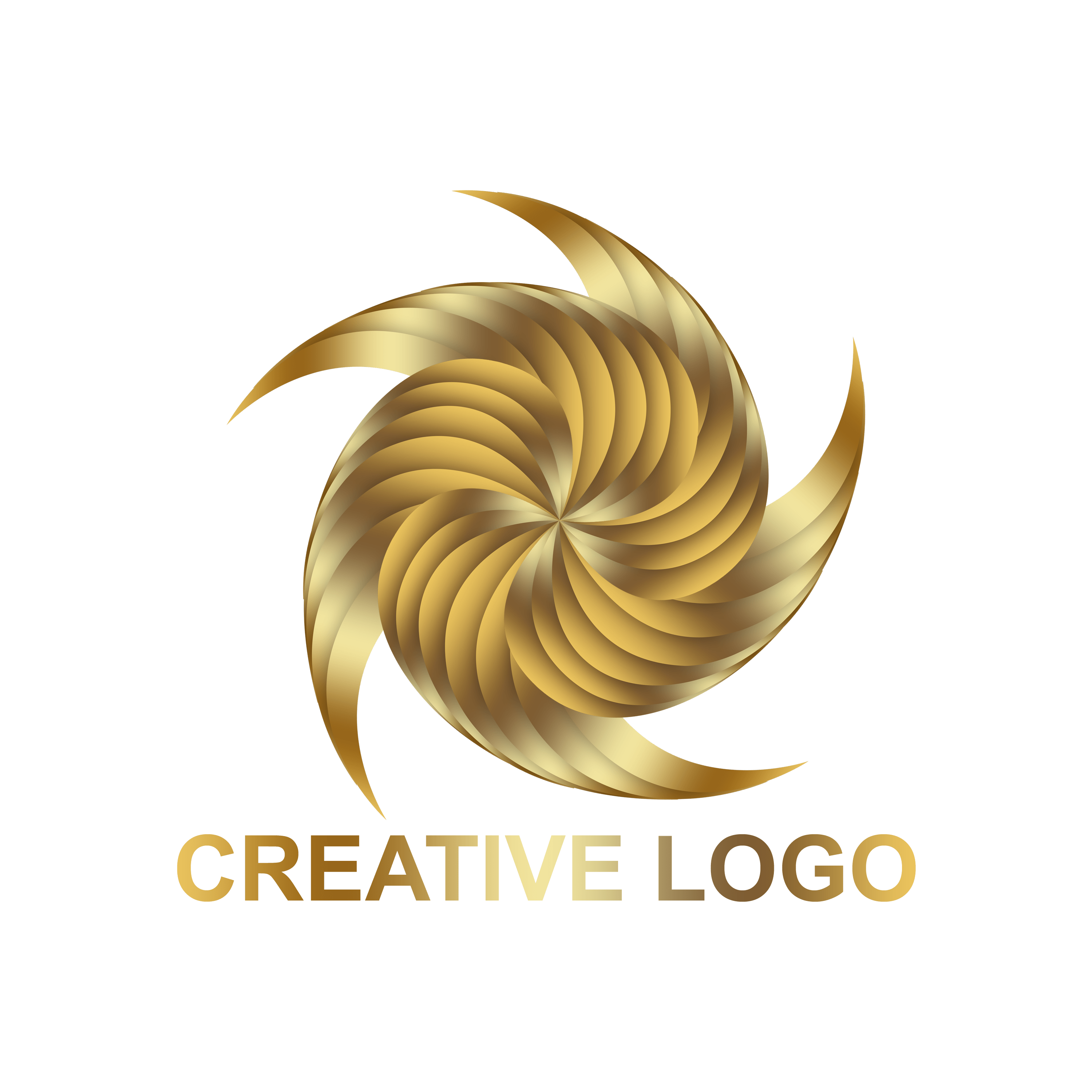 Free Creative Abstract Logo Design PNG Transparent