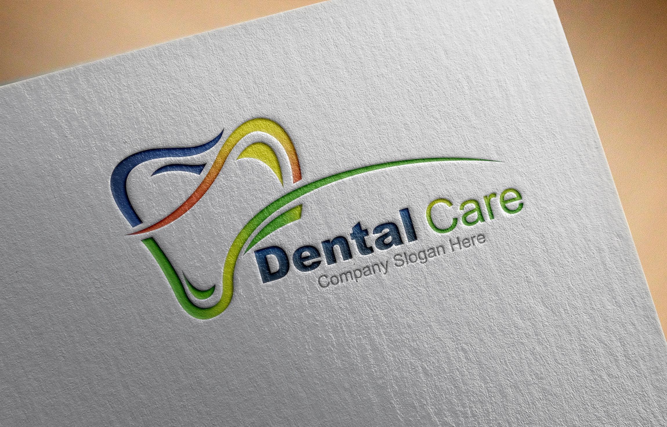 Free Dental Logo Design, Dentist Logo Template