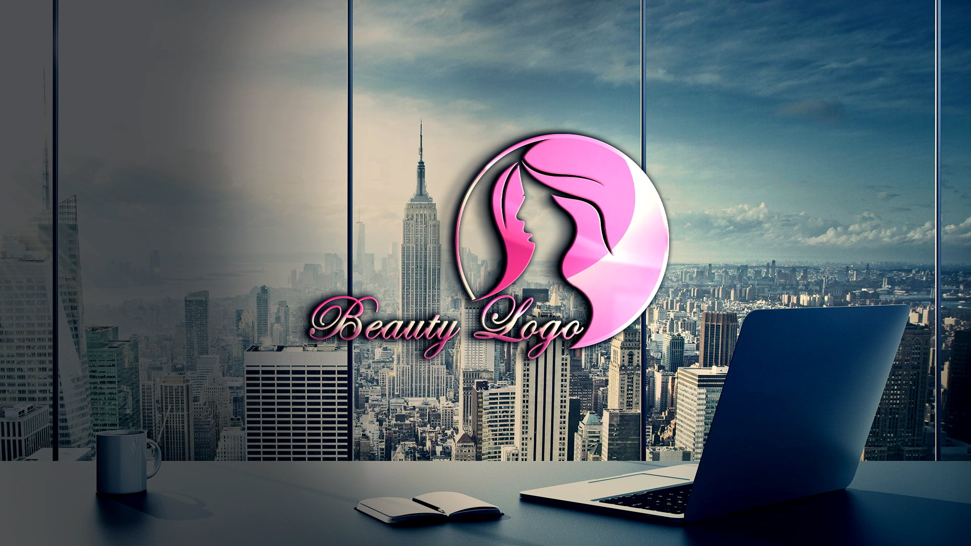 Free Download Beauty Logo Design Template