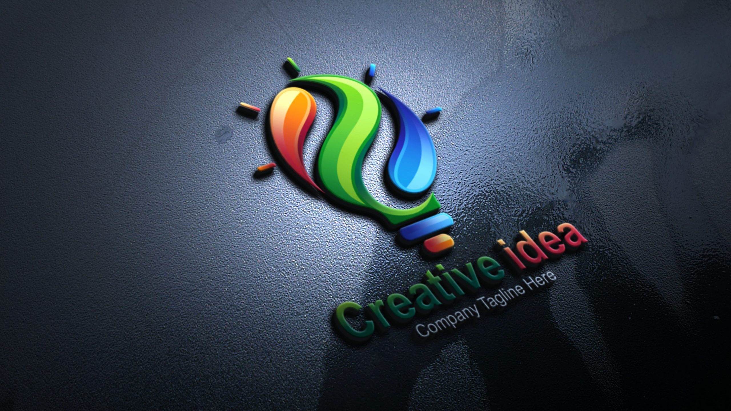 Free Download Creative Idea Logo Design