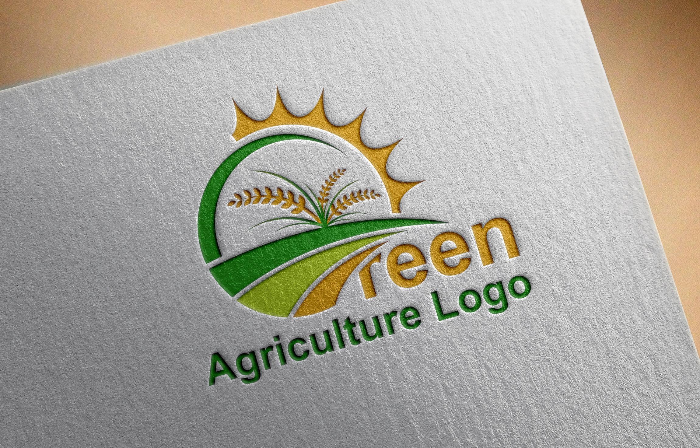 Free Download Farm Logo Vector - Agriculture Logo Design