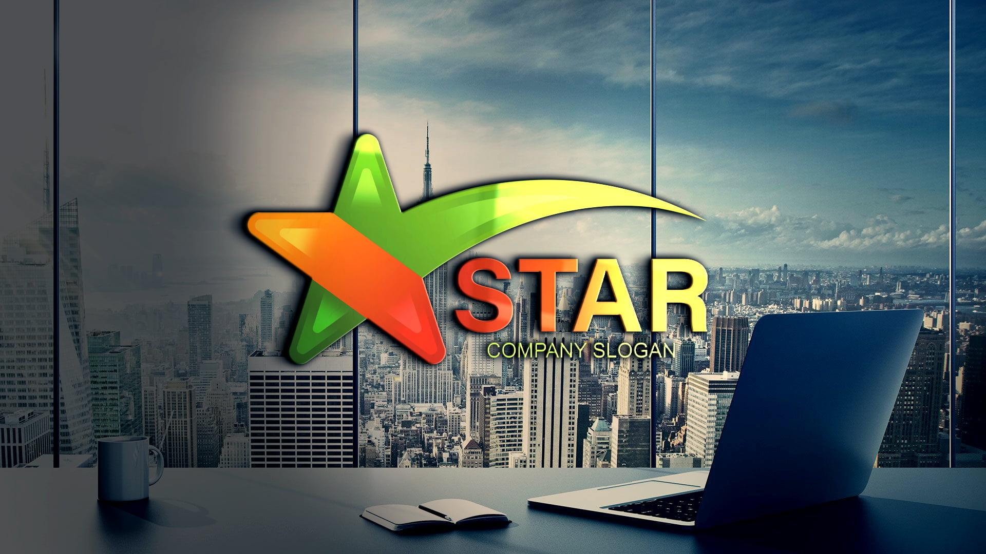 Free Download Star Logo Design