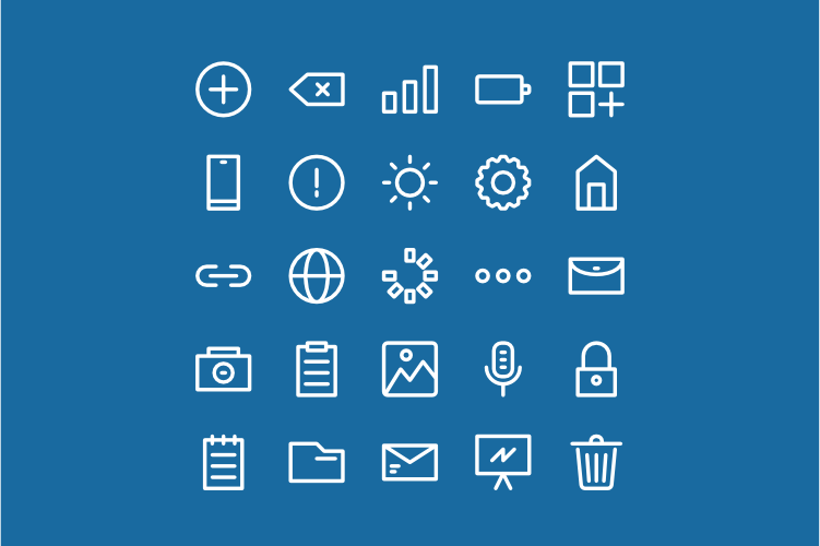 Free Download User Interface Icons Font
