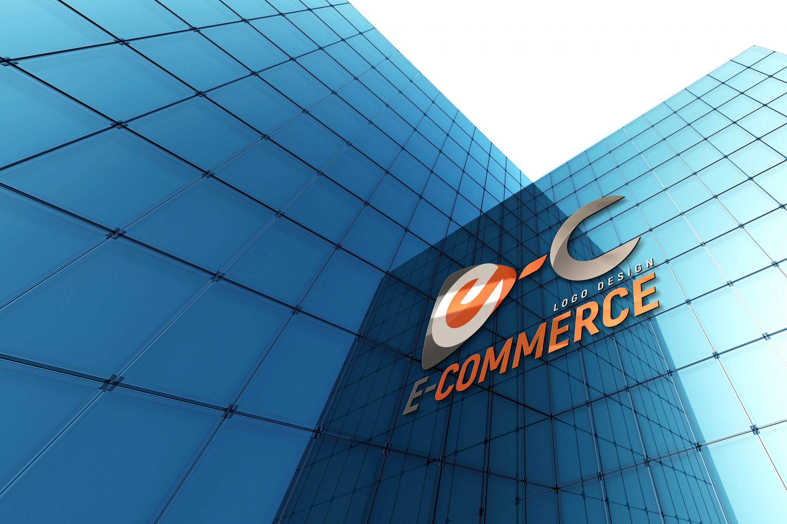 Free E-commerce Logo Design PSD