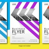 Free EPS Business Flyer Template Download