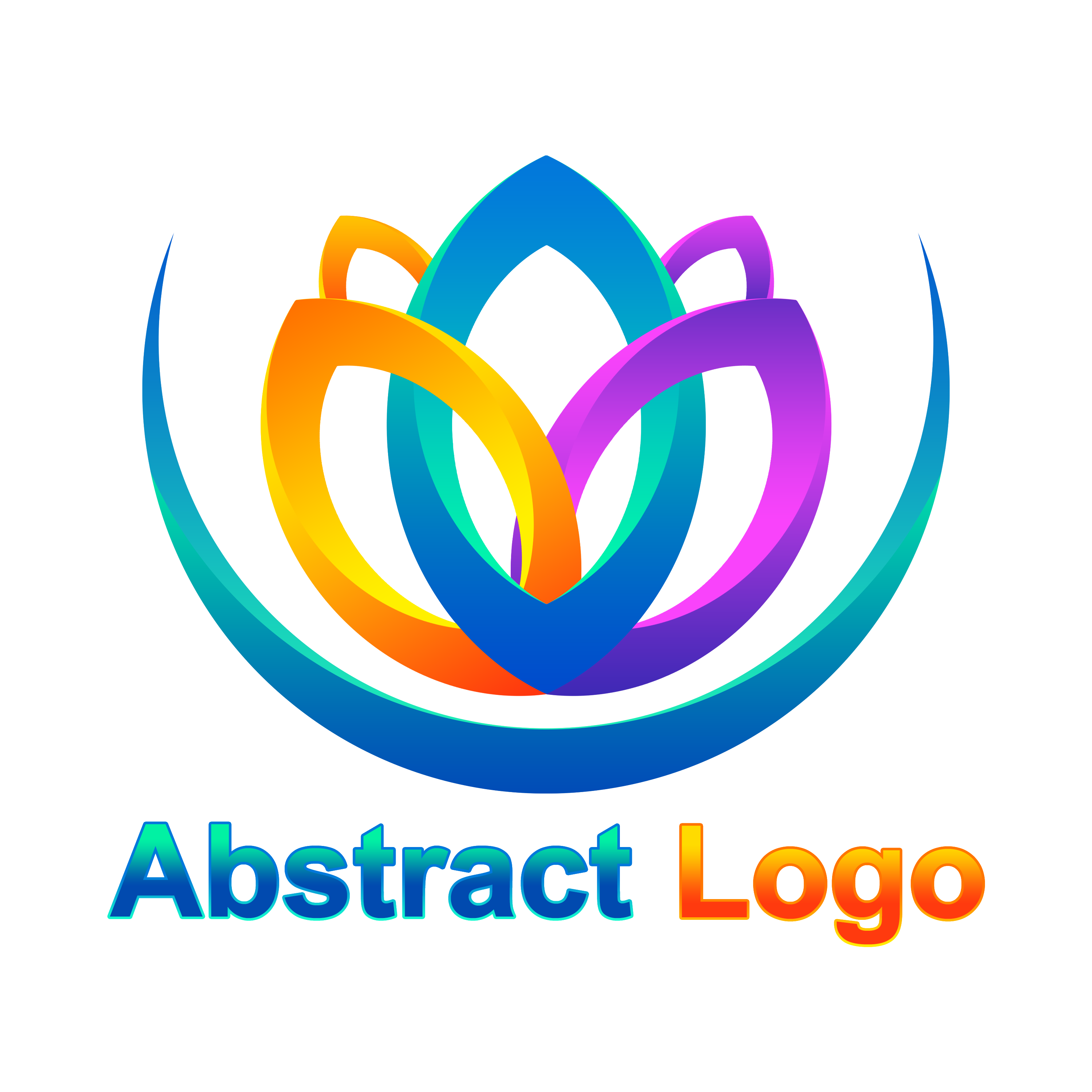 Free Editable Abstract Logo Design PNG Transparent