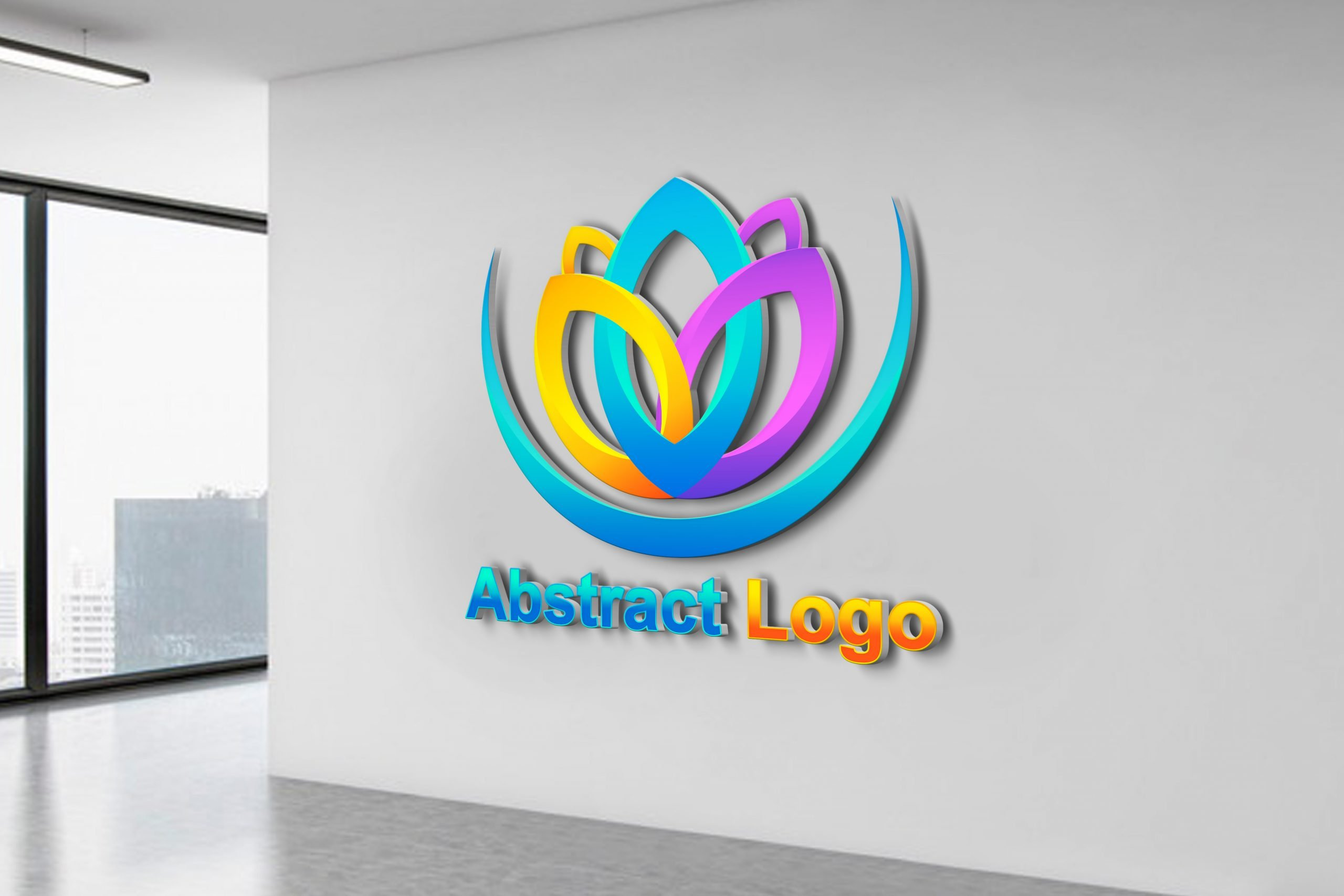 Free Editable Abstract Logo Template