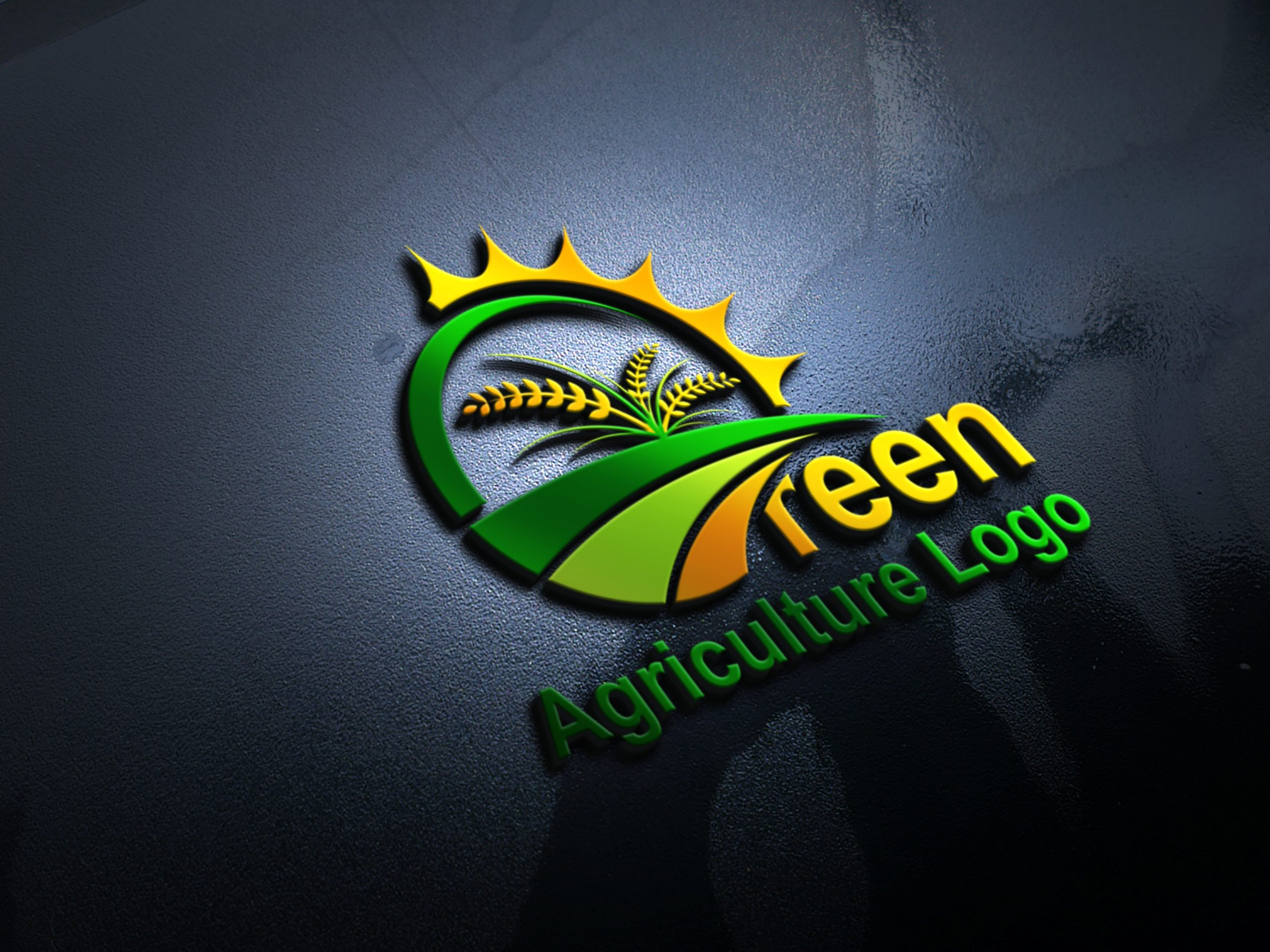 Free Farm Logo Vector - Agriculture Logo Design Download