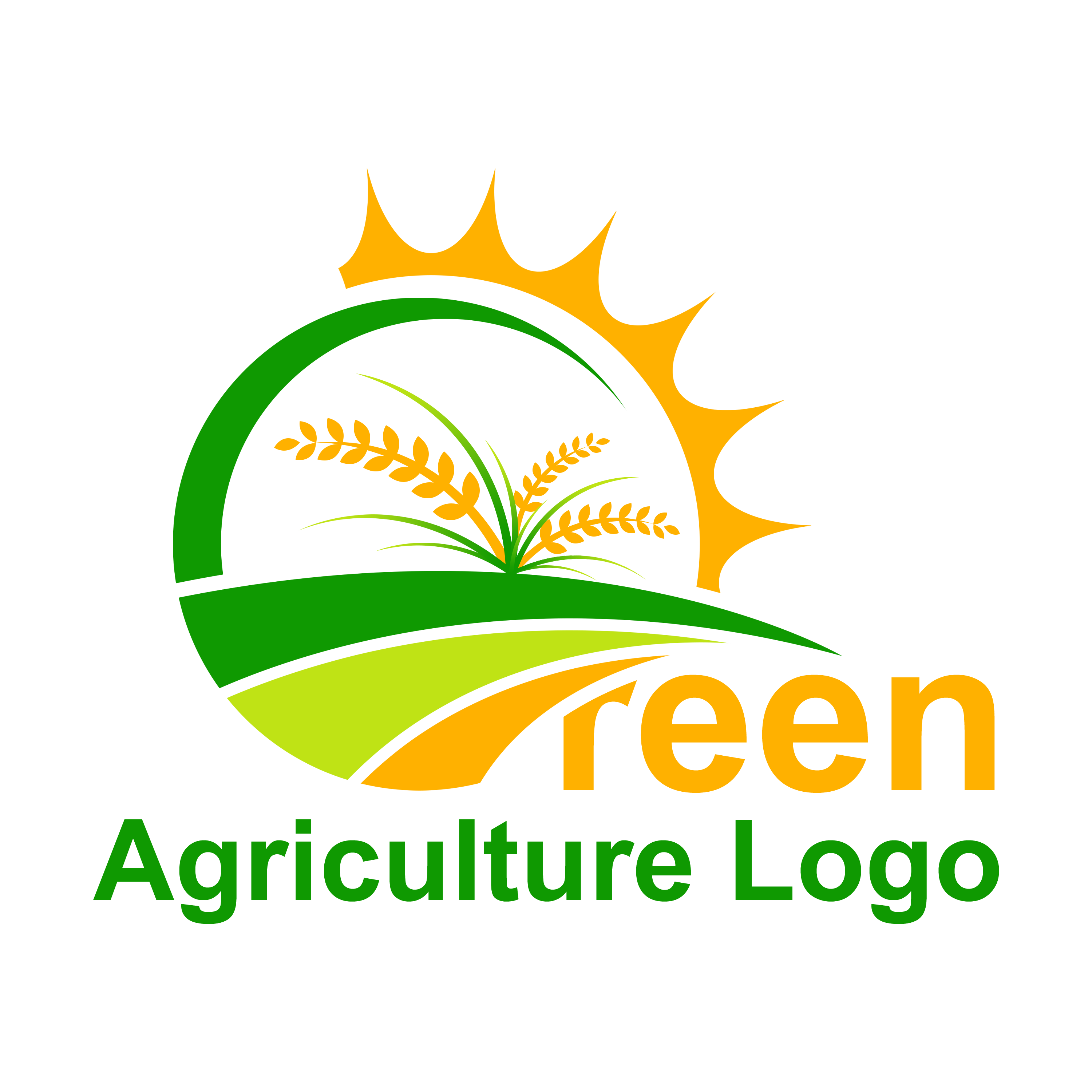 Free Farm Logo Vector - Agriculture Logo Template PNG Transparent