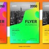 Gradient Business Flyer Template