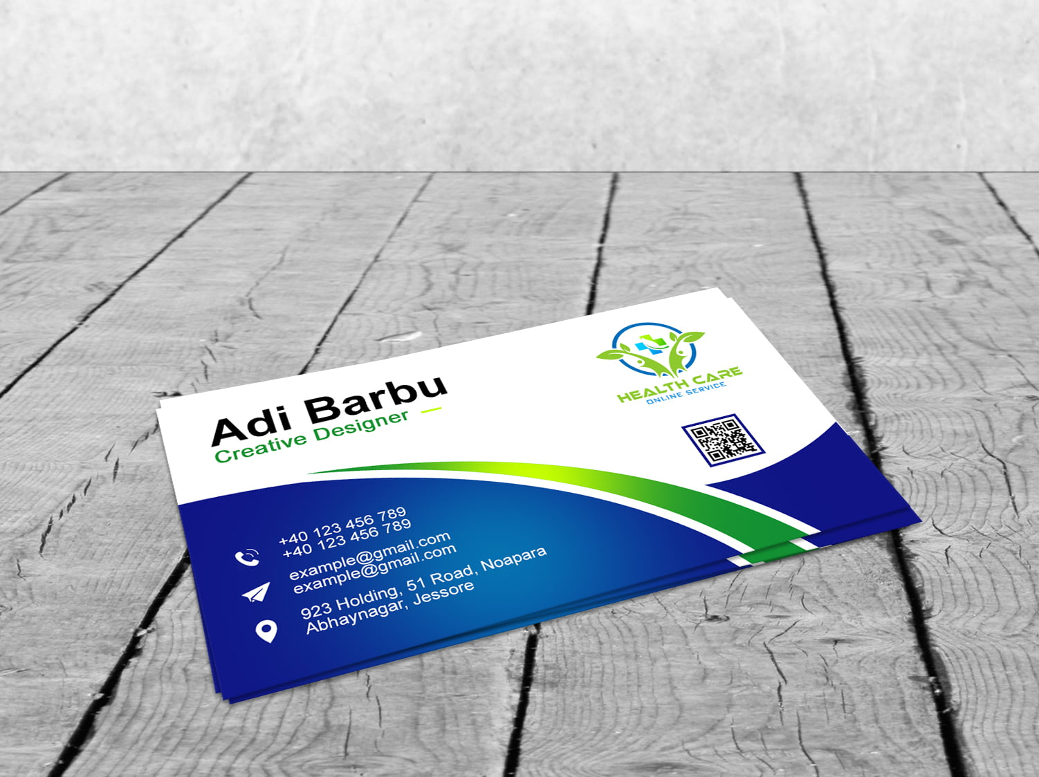 Free Healthcare Professional Business Card Design
