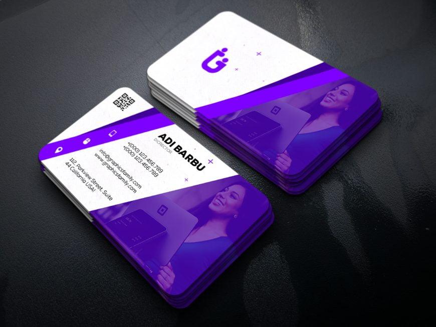 Free Marketing Business Card Design