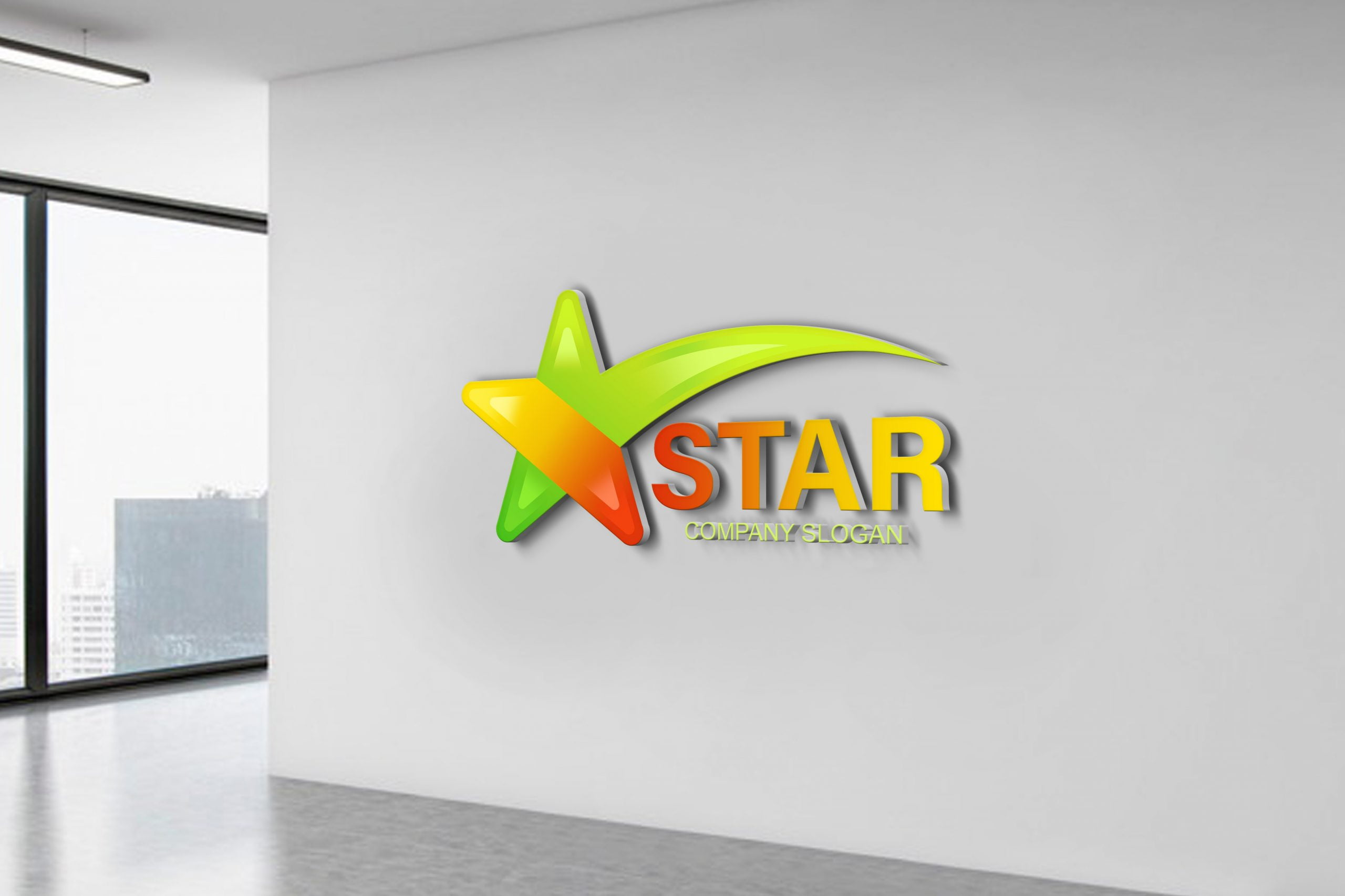 Free Star Logo Design Source