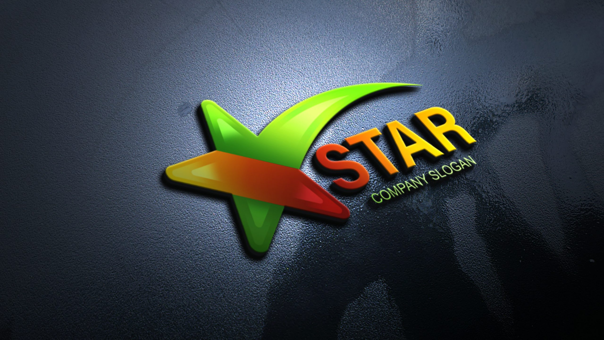 Free Star Logo Design Template Download