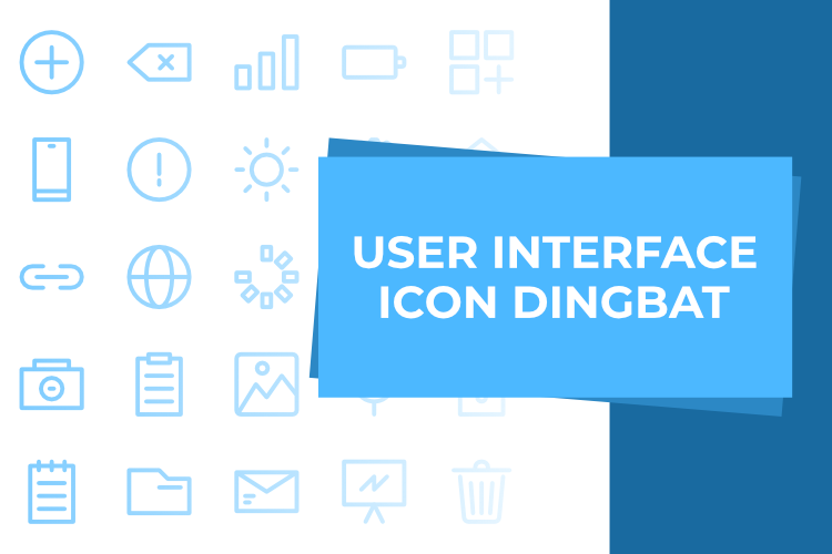 Free User Interface Icons Font