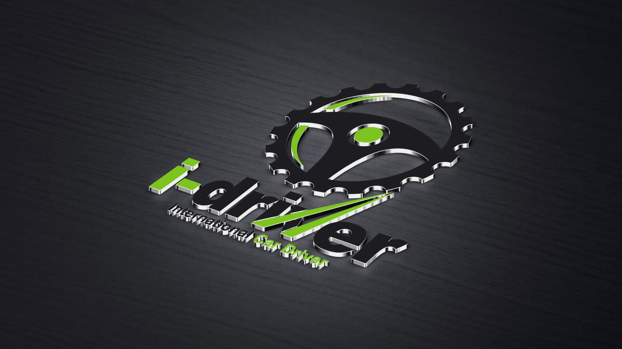 Free Vector Car Driver Logo Design