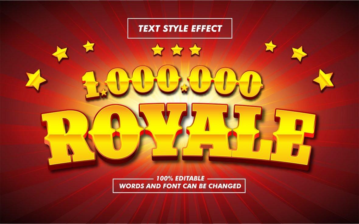 Glitter Yellow Text Effect