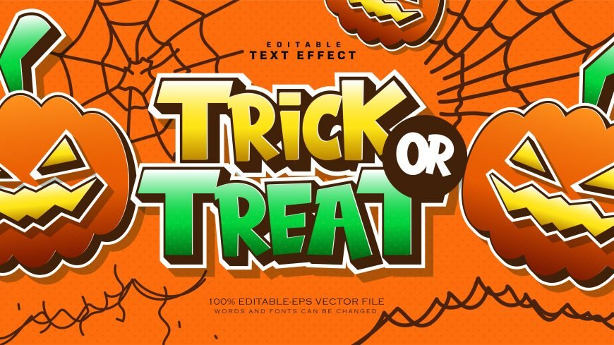 Halloween Style Text Effect