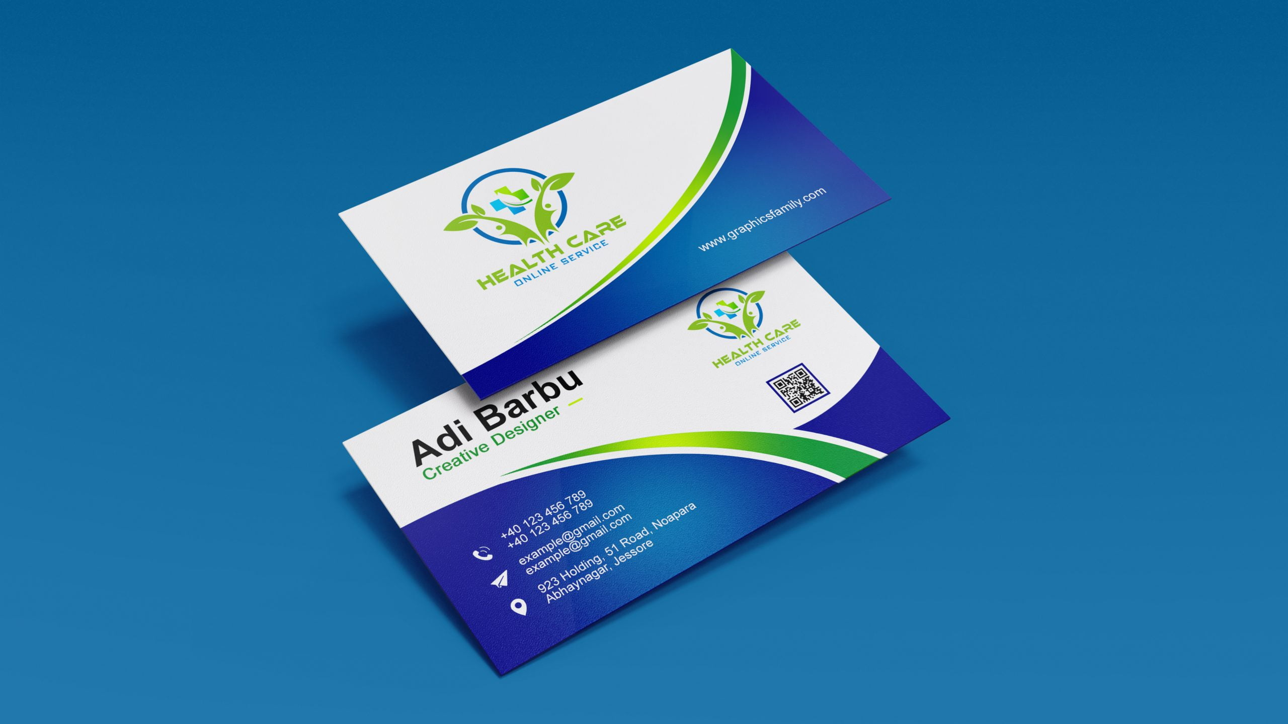 Health care Professional Business Card Template Download