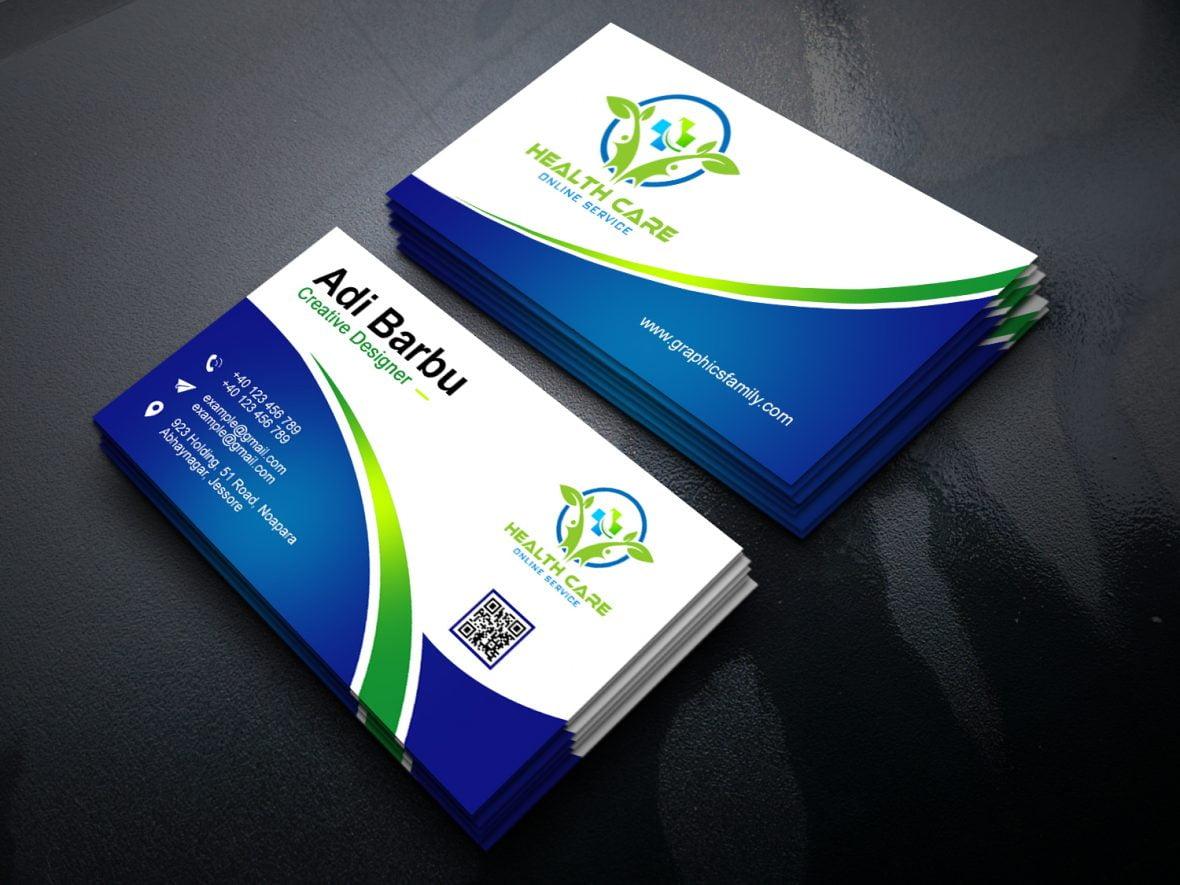 Healthcare Professional Business Card Design