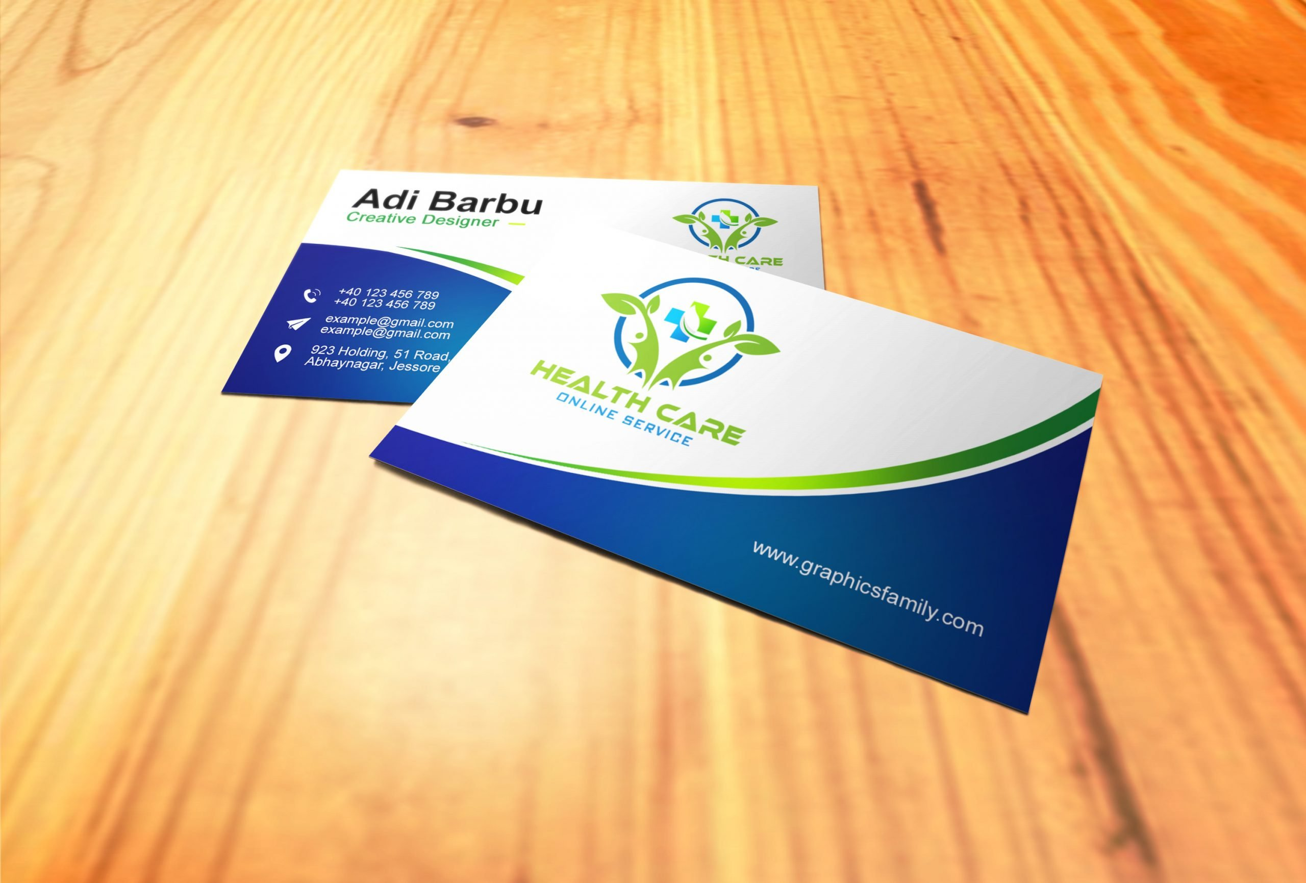 Healthcare Professional Business Card Download