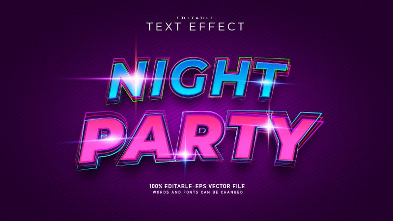Modern Glitter Text Effect