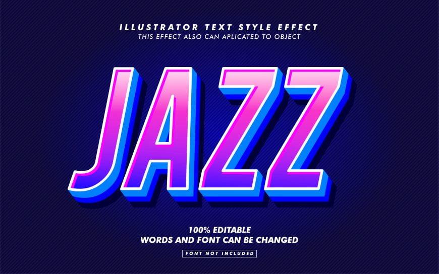 Modern Purple Gradient Text Effect