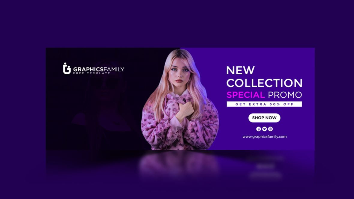 New Collection Special Promotional Banner Template