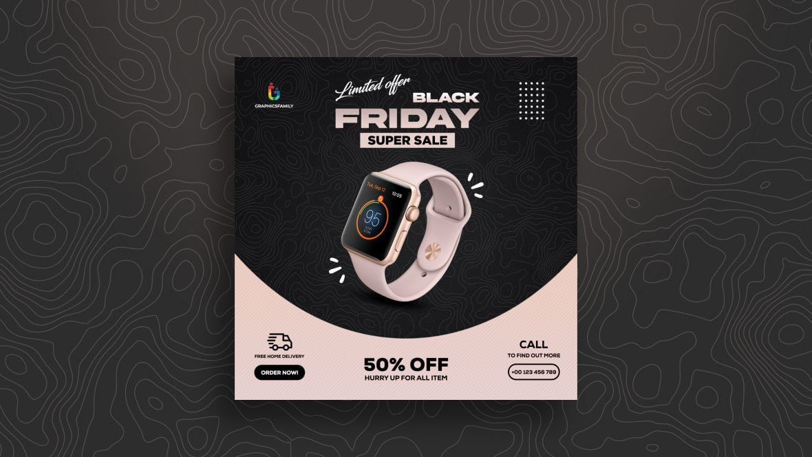 Black Friday Sale Banner Template