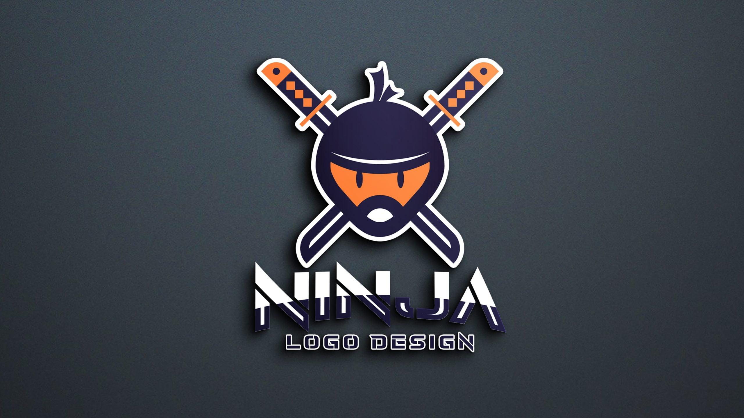 Download Ninja Logo Design