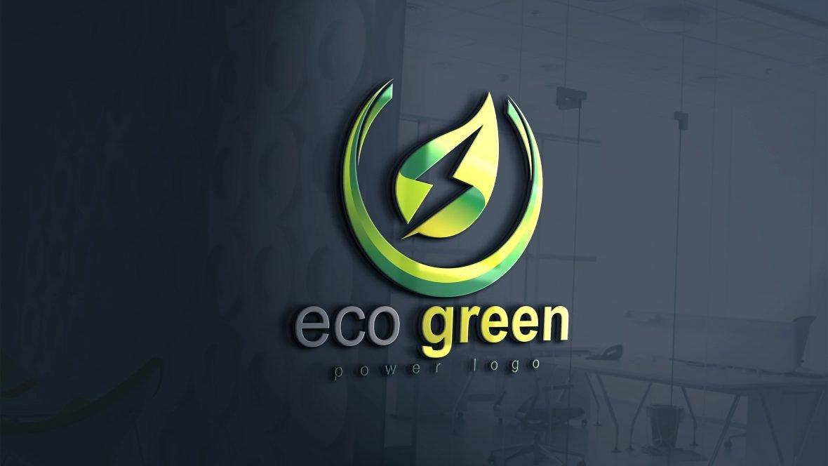 Eco Green Power Logo