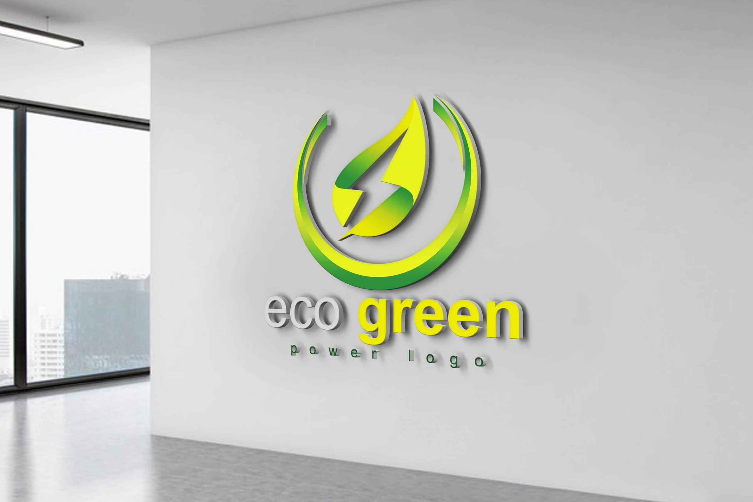 Eco Power Logo Design
