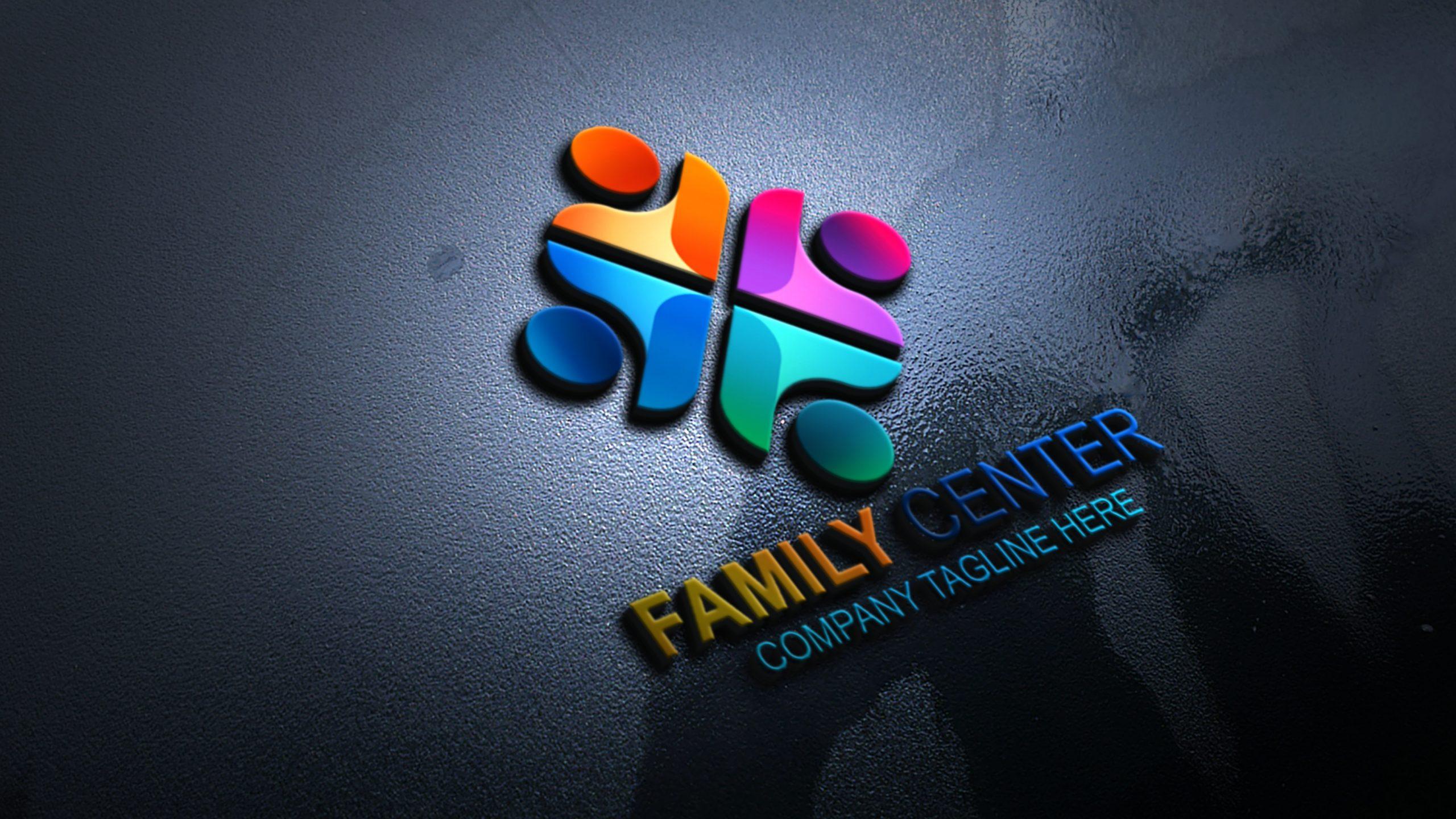 Family Logo Vector Template