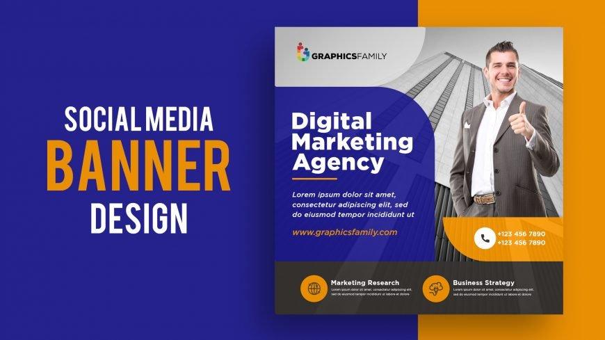 Free Digital Agency Social Media Banner Template