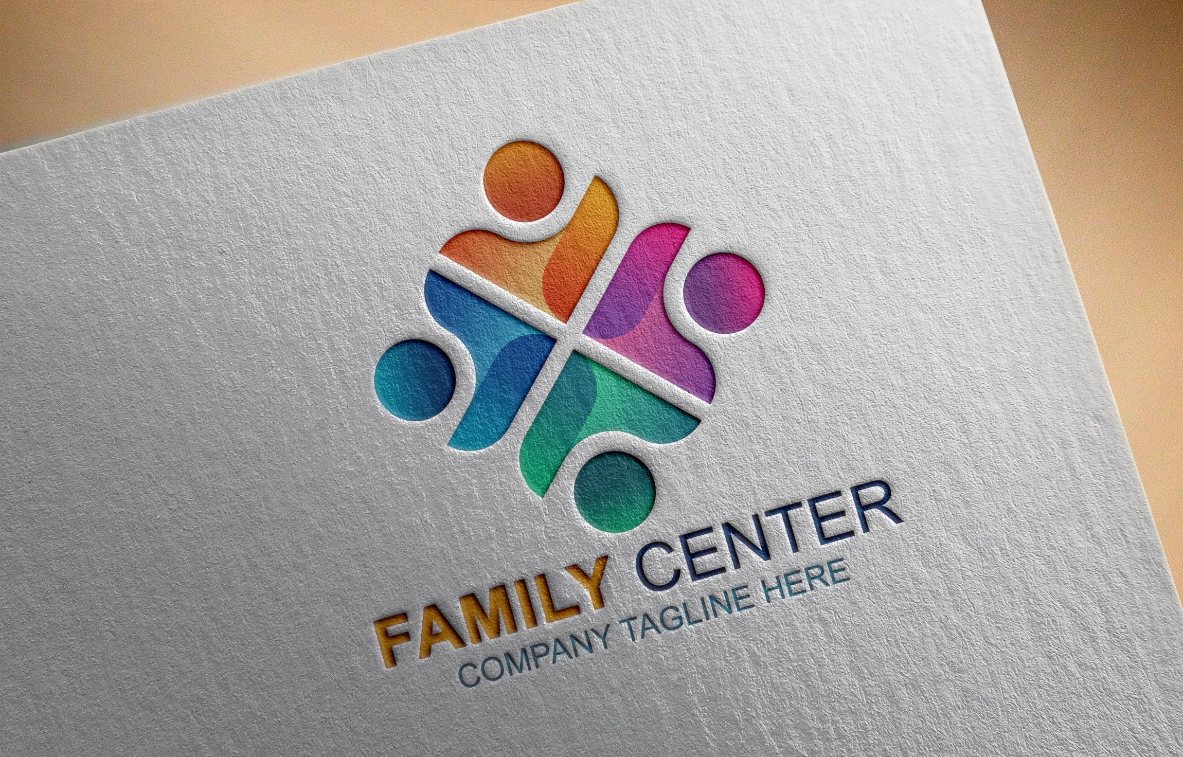 Free Download Family Logo Vector Template