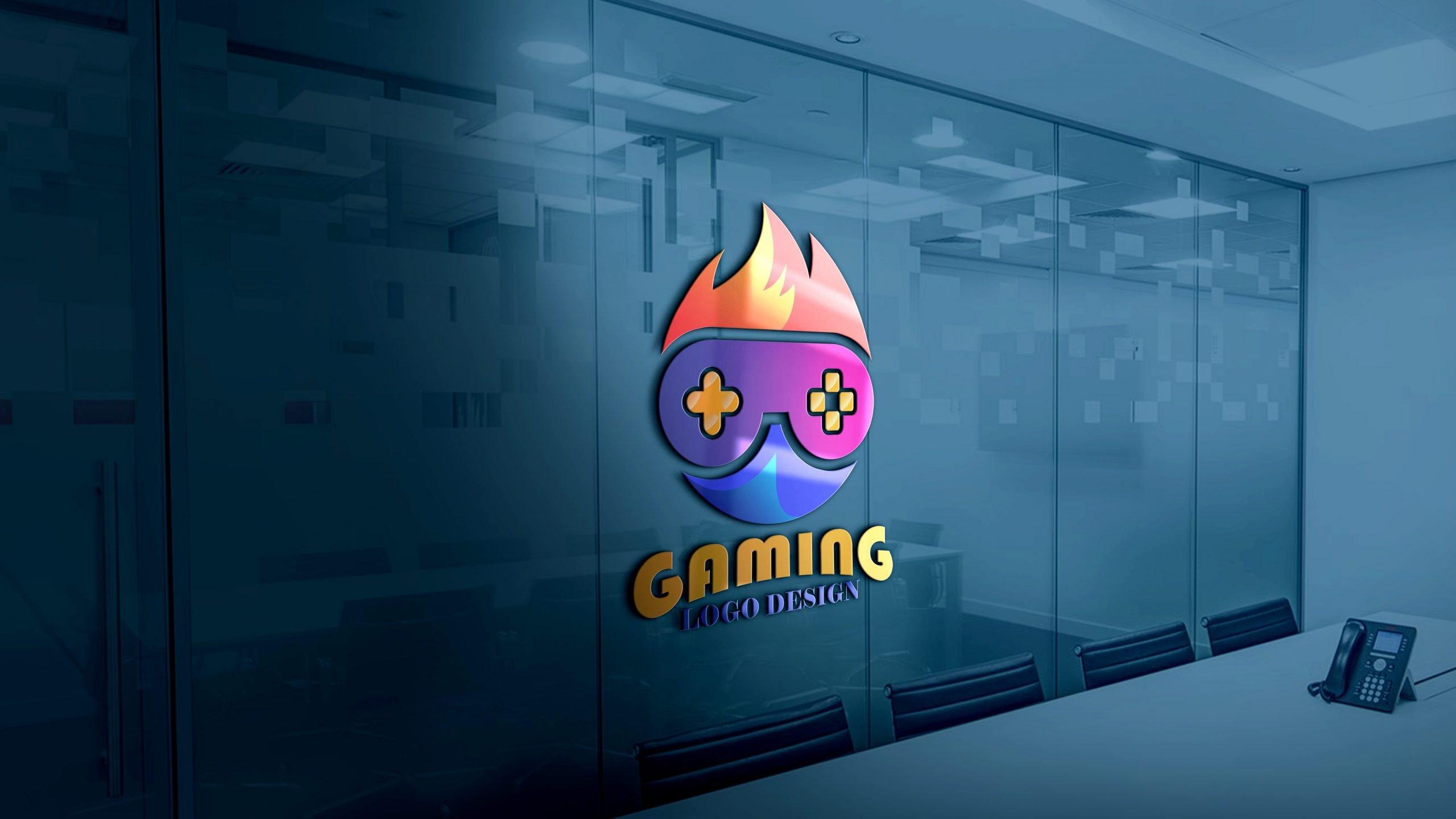 Free Download Gaming Logo Design Vector