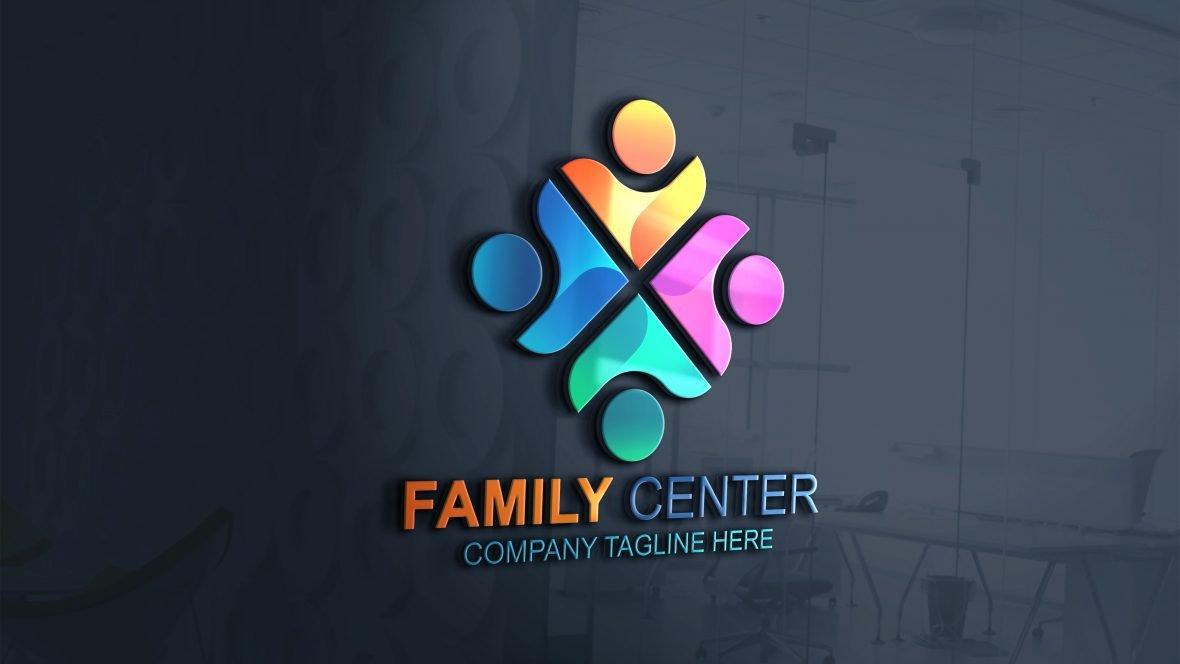 Free Family Logo Vector Template