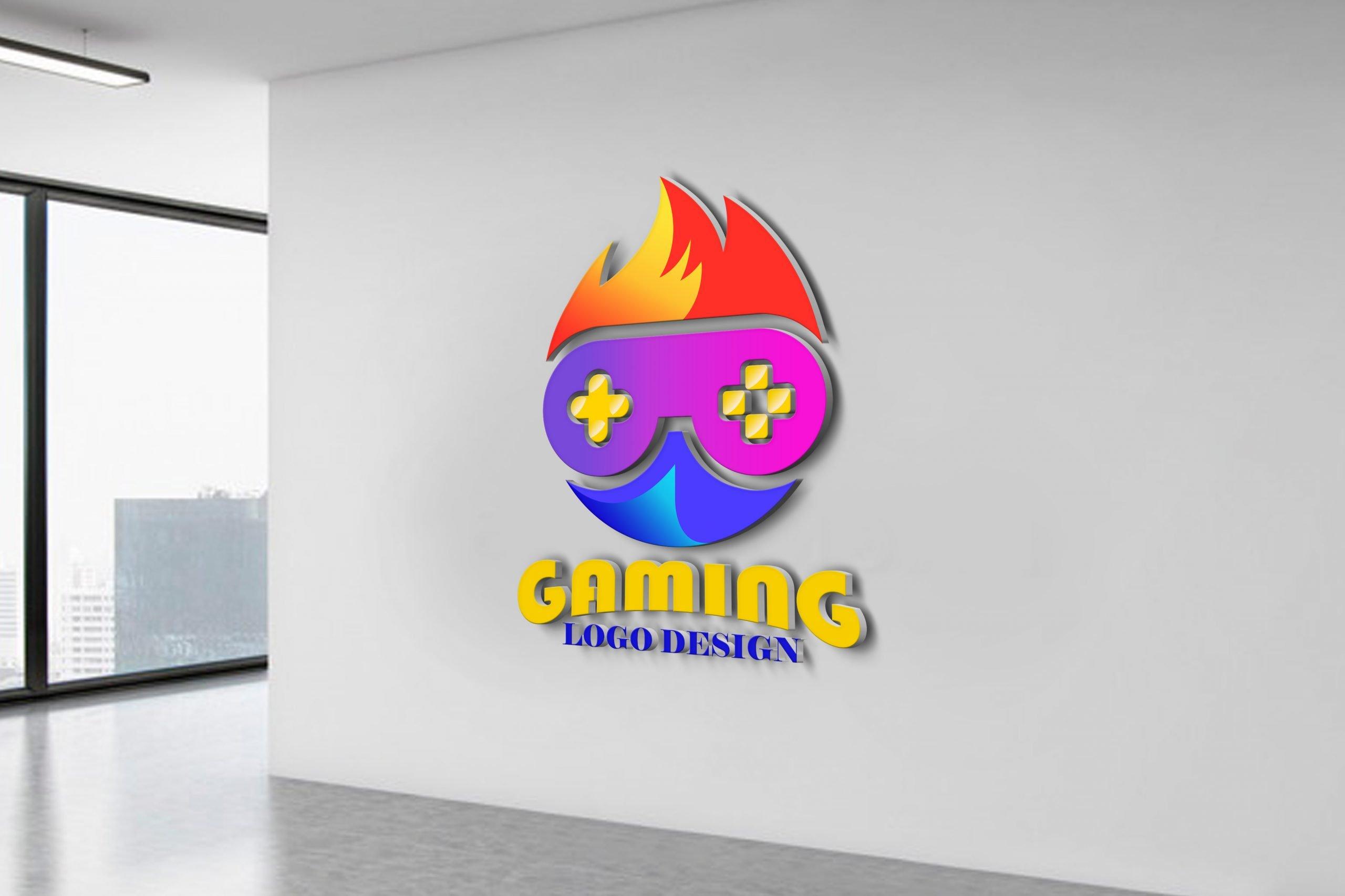 Free Gaming Logo Design Vector