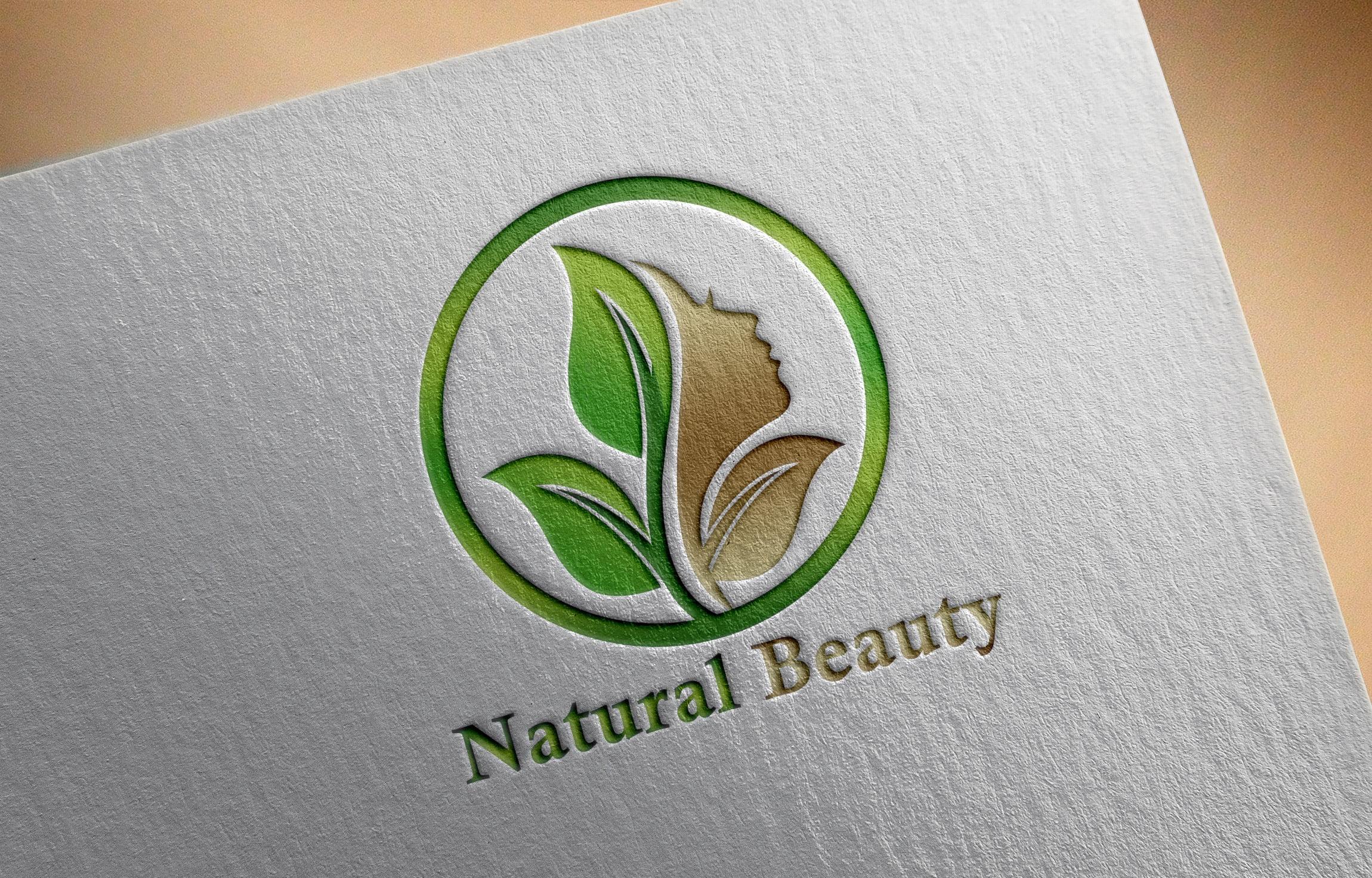 Free Natural Beauty Logo Design