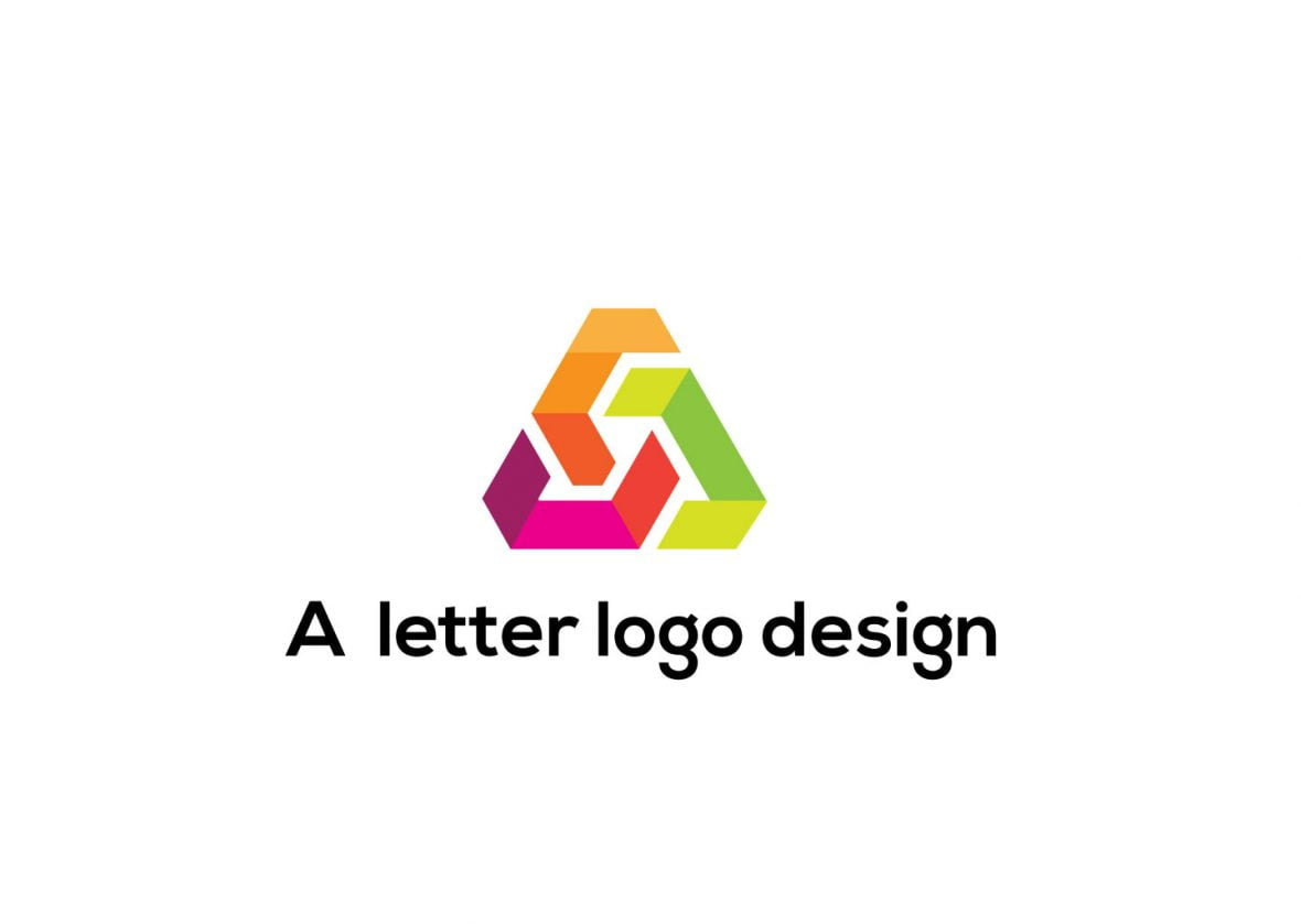 Free Professional Letter A Logo Design
