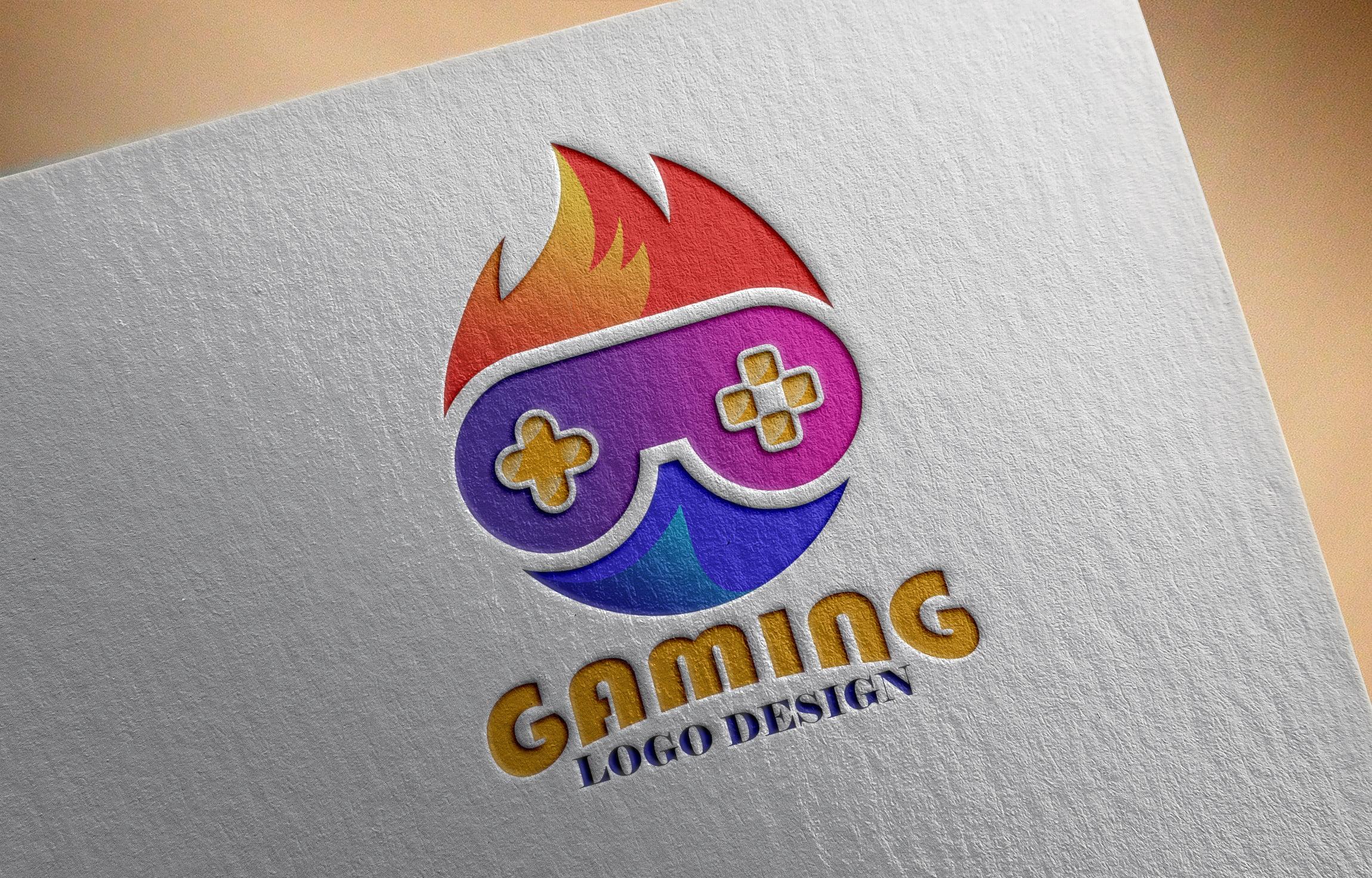 Gaming Logo Design Vector Download
