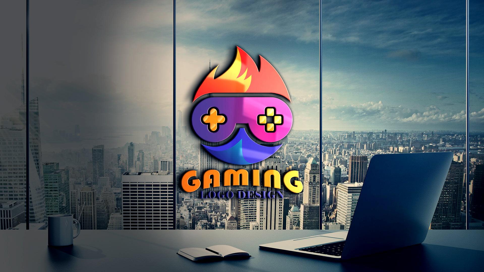Gaming Logo Design Vector Free Download