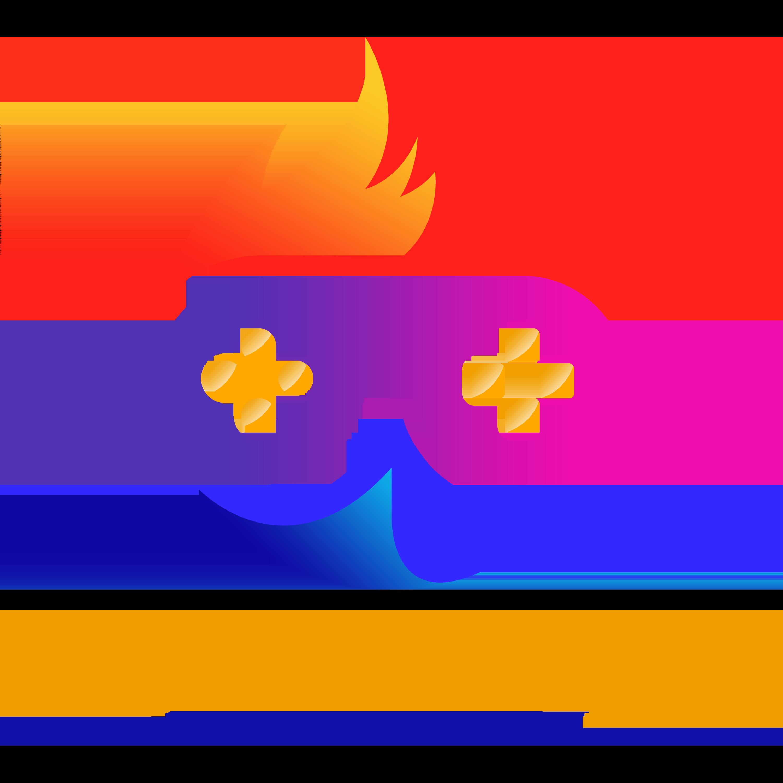 Gaming Logo Design Vector PNG
